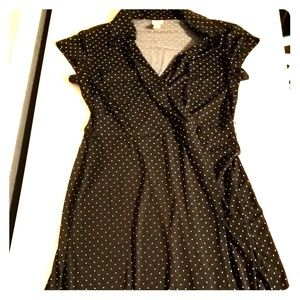 Small Black Polkadot dress